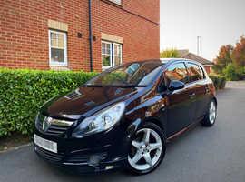 "2010 10 REG Vauxhall Corsa 1.4 i 16v SRi 5dr (a/c) "" EXTERIOR PACK "" HPI CLEAR """