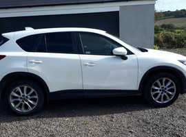 Mazda CX-5, 2015 (15) White Estate, Manual Diesel, 33,579 miles