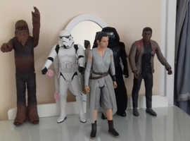 Star wars figures large