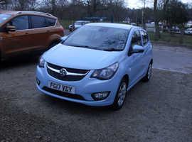 Vauxhall Viva, 2017 (17) Blue Hatchback, Manual Petrol, 14,700 miles