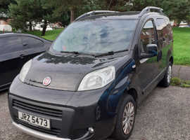 Fiat Qubo, 2011 (11) Black MPV, Manual Diesel, 62,850 miles