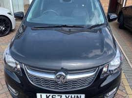 Vauxhall Viva, 2017 (67) Black Hatchback, Manual Petrol, 3,700 miles