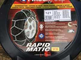Snow Chains - for SUVs and commercial vehicles