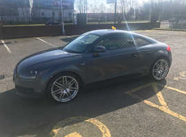 Audi TT, 2007 (07) grey Coupe, Manual Petrol, 121000 miles