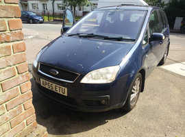 Ford Focus, 2006 (55) blue mpv, Manual Petrol, 150,100 miles