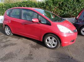 Honda Jazz, 2009 (59) Red Hatchback, Manual Petrol, 130,000 miles