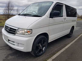 Mazda Bongo Campervan 3 berth 6 seat with kitchen new shape only 21,000 miles stunning! card pay ok