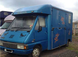 old but very reliable 3.5 ton horsebox