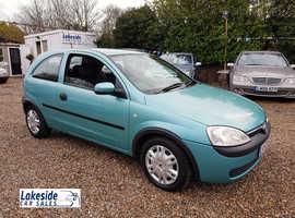 Vauxhall Corsa Club 1.0 Litre 3 Door Hatchback, New MOT, Recently Serviced, Cheap Insurance Group.