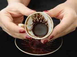 Coffee and tarot reading