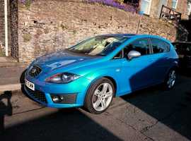 Seat Leon, 2012 (12) Blue Hatchback, Semi auto Diesel, 58,000 miles