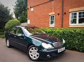 "2004 54 REG Mercedes-Benz C Class 1.8 C180 Kompressor Elegance SE Auto 5dr "" ESTATE "" HPI CLEAR """