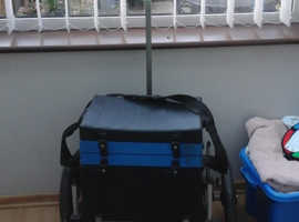 Water Craft Fishing Box/Seat and Trolley