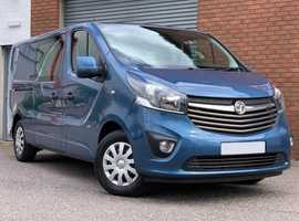 Vauxhall Vivaro 1.6 CDTI 2900 Sportive Bi-Turbo LWB Crew Van WOW! Check This Out! Mega Low Miles, 6 Seat Crew Van....No Vat!