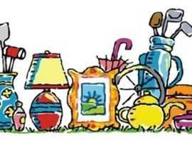 Bric-a-Brac sale Sunday 12-2. Housetidy.co.uk
