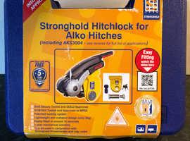 Stronghold caravan hitch lock