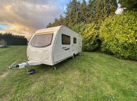 Bargain Avondale Dart 2008 Rare Light Weight 4 Berth Fixed Rear Bunk Beds & Full Size Awning.
