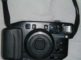Collectable Canon Sureshot Zoom XL 35mm Lens-Shutter Camera With Autofocus