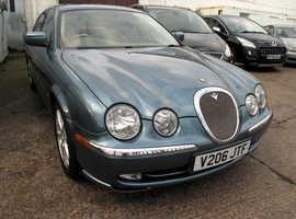 1999 V Jaguar S-TYPE 4.0 Auto Saloon, Automatic Petrol, 73,860 miles Cream Leather