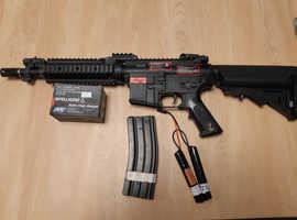 Three m4 airsoft rifles
