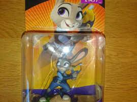 Disney Infinity 3.0 Judy Hopps Figure, Trading Card & Original Box As New Condition