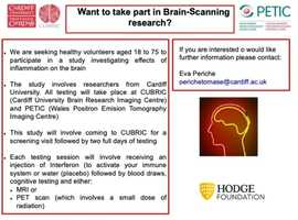 £150!!! Paid volunteers for Research Study in Cardiff University