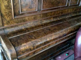 Beautiful old upright piano