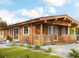 Living log home 3 bedroom