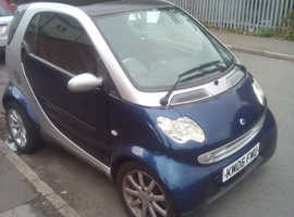 Smart City Coupe, 2006 (06) Blue Coupe, Automatic Petrol, 62,000 miles