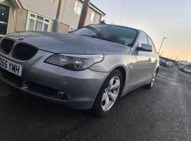 BMW 5 Series, 2005 (55) Grey Saloon, Manual Diesel, 105,460 miles SPARE OR REPAIR