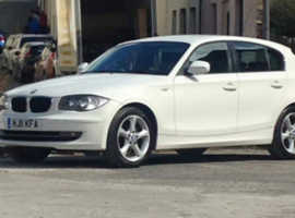 BMW 118D SPORT, 2011 (11) White Hatchback, Manual Diesel, 130,000 miles