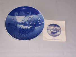 Bing & Groendahl Juleaften Plate 1969