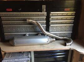 KTM 450 EXC New Parts, Exhaust Etc