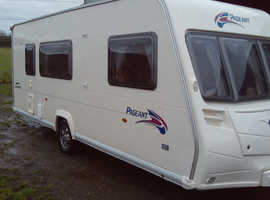 Bailey pageant champagne series 6 four berth touring caravan 2007, great layout! good condition.