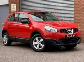 2013 Nissan Qashqai 1.6 Visia Low Mileage Qashqai....Only 1 Previous Keeper