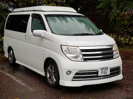 NISSAN ELGRAND E51 RIDER CAMPERVAN CONVERSION