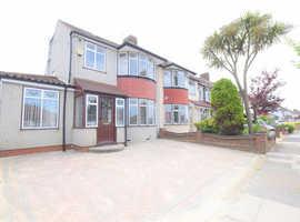 4 Bedroom Semi-Detached House For Sale in Strafford Avenue, Barkingside, IG5