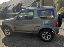Suzuki Jimny, 2008 (58) Grey 4x4, Manual Petrol, 100,000 miles