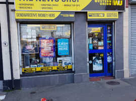 Busy newsagents shop in Old Swan, Liverpool, for sale offering Western Union and Paypoint services