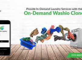 Washio clone: The perfect on-demand laundry app