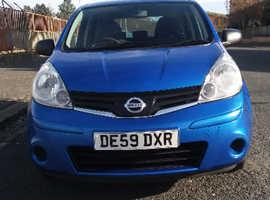 Nissan Note, 2009 (59) Blue MPV, Automatic Petrol, 116,000 miles