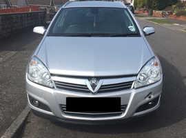 Vauxhall Astra, 2008 (08) Silver Estate, Manual Petrol, 56,113 miles