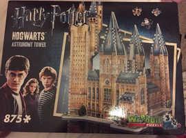 Wrebbit Harry Potter Astronomy Tower 3D Puzzle