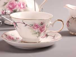 A Cup Above The Rest 1st Class China Hire