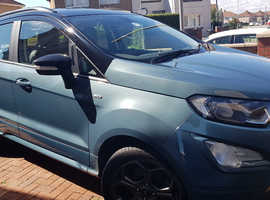 Ford ecosport, 2019 (19) Urban Teal Hatchback, Manual Petrol,