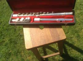 Vintage Lesley Sheppard Flute and Case
