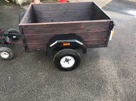 Small tipe or camping trailer