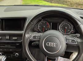 Audi Q5, 2013 (13) Brown Estate, Automatic Diesel, 81,500 miles