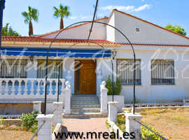 REF. H0036 - CHALET IN A CONSOLIDATED URBANIZATION, LIRIA - VALENCIA (SPAIN)