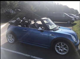 Mini MINI, 2008 (57) Blue Convertible, Manual Petrol, 103,000 miles